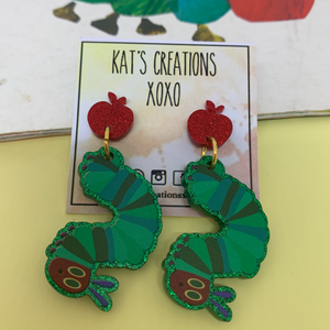 NEW Hungry Caterpillar Dangles