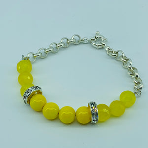 The Ombre Bracelet - Yellow