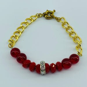 The Ombre Bracelet - Red