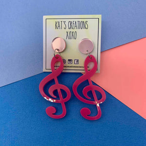 NEW Music Lover Dangles