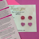 Earrings for a Cause LOVE YOUR BOOBS