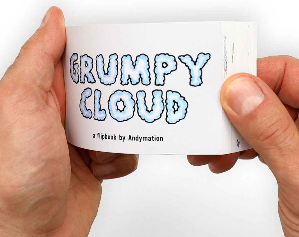 Grumpy Cloud Flipbook