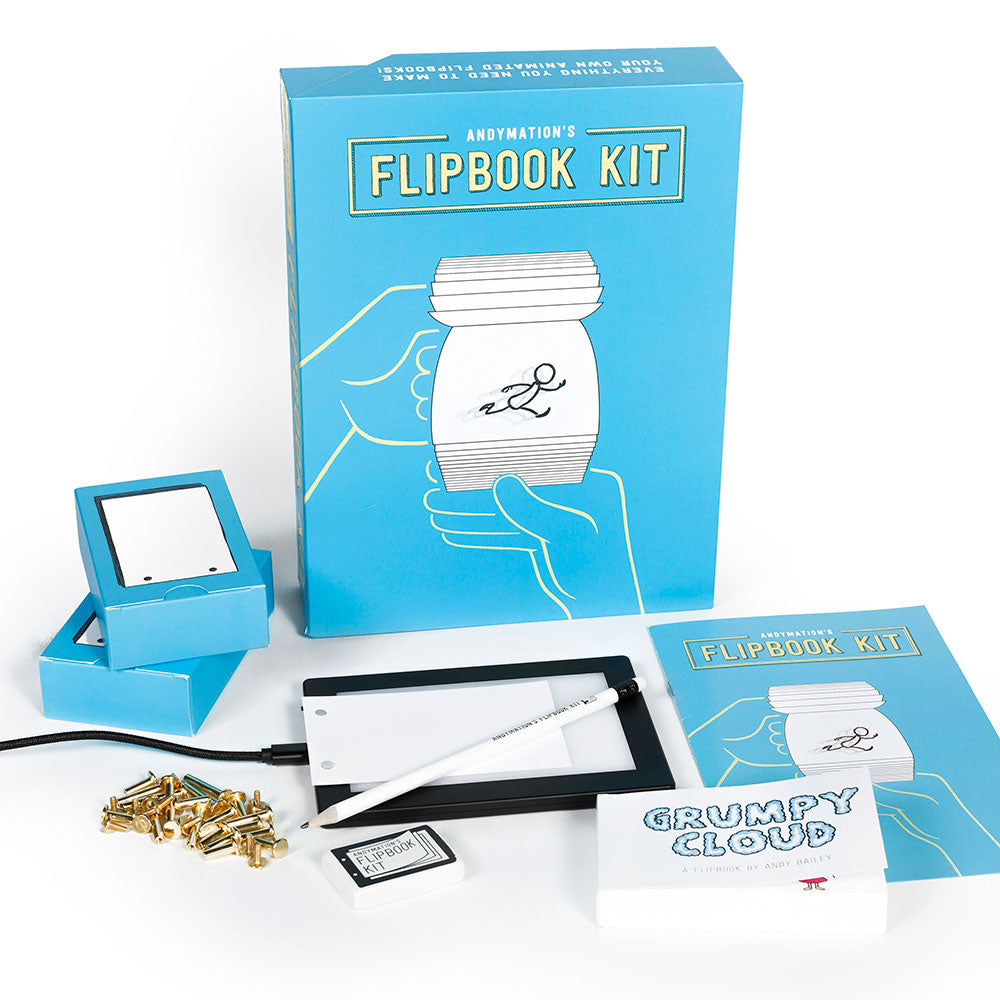 Kit de folletos de Andymation