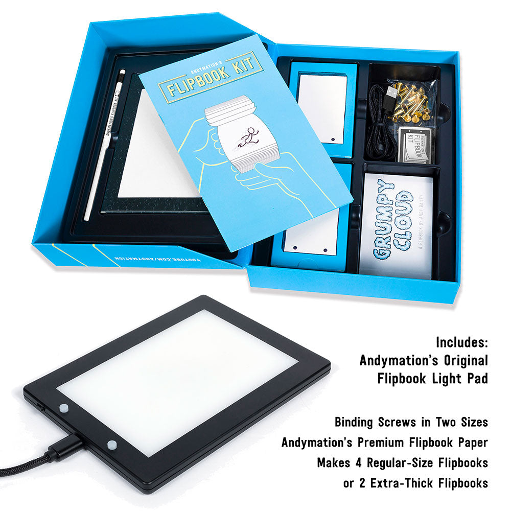 Kit Flipbook d'Andymation
