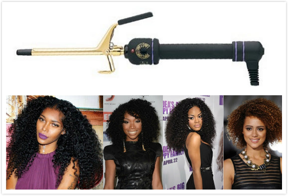 How to Choose the Right Curling Iron to Define Your Hair Curls ?