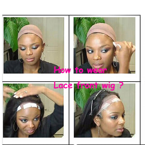 How do you wear the lace front ?
