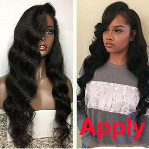 How to apply full lace human hair wigs ?