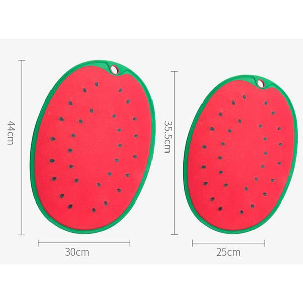 Kitchen Chopping Tools Watermelon Modeling Household Cutting Board Kitchen PP Anti-slip Chopping Board