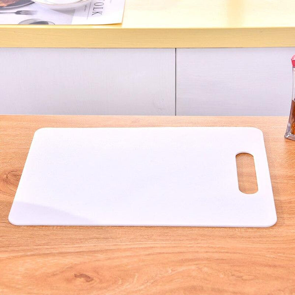Plastic Non-slip Hang Hole Cutting Board Anti Bacterium Chopping Board Food Slice Cut Chopping Block Kitchen Tools