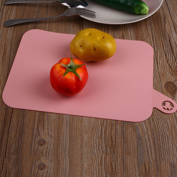 Durable Heat Resistant Silicone Soft Chopping Cutting Board Kitchenware Tool