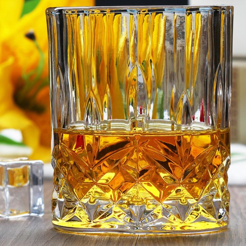 1Pcs Whiskey Wine Glass Lead-free High Capacity Beer Glass Wine Cup Bar Hotel Drinkware Brand Vaso Copos