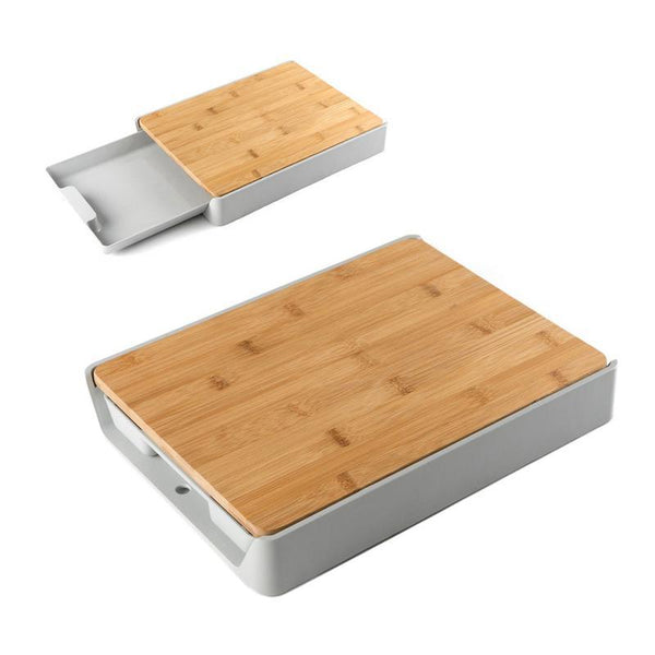 Home Kitchen Drawer Bamboo Cutting Board Plastic Multifunctional Thickening Chopping Board Chopping Board Kitchen Accessories