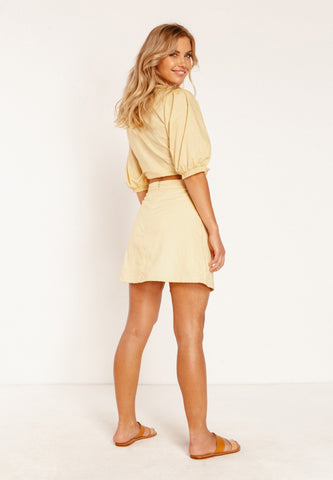 Julie Mini Split Skirt