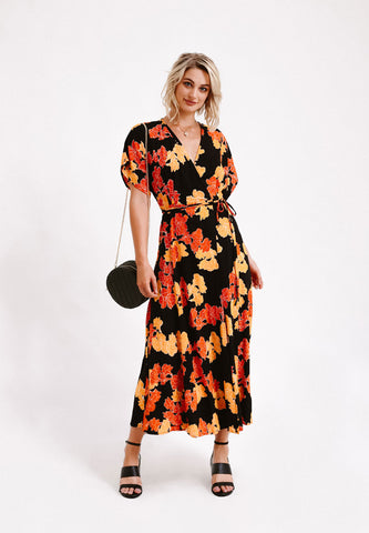 Alya Wrap Dress