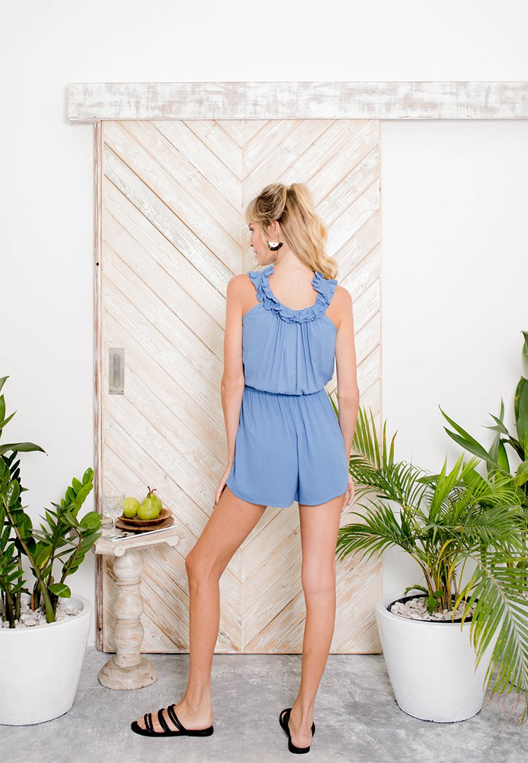 Santana Off Shoulder Playsuit
