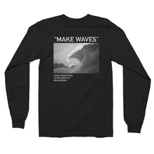 "Load image into Gallery viewer, Nolan Omura ""Make Waves"" Long Sleeve"