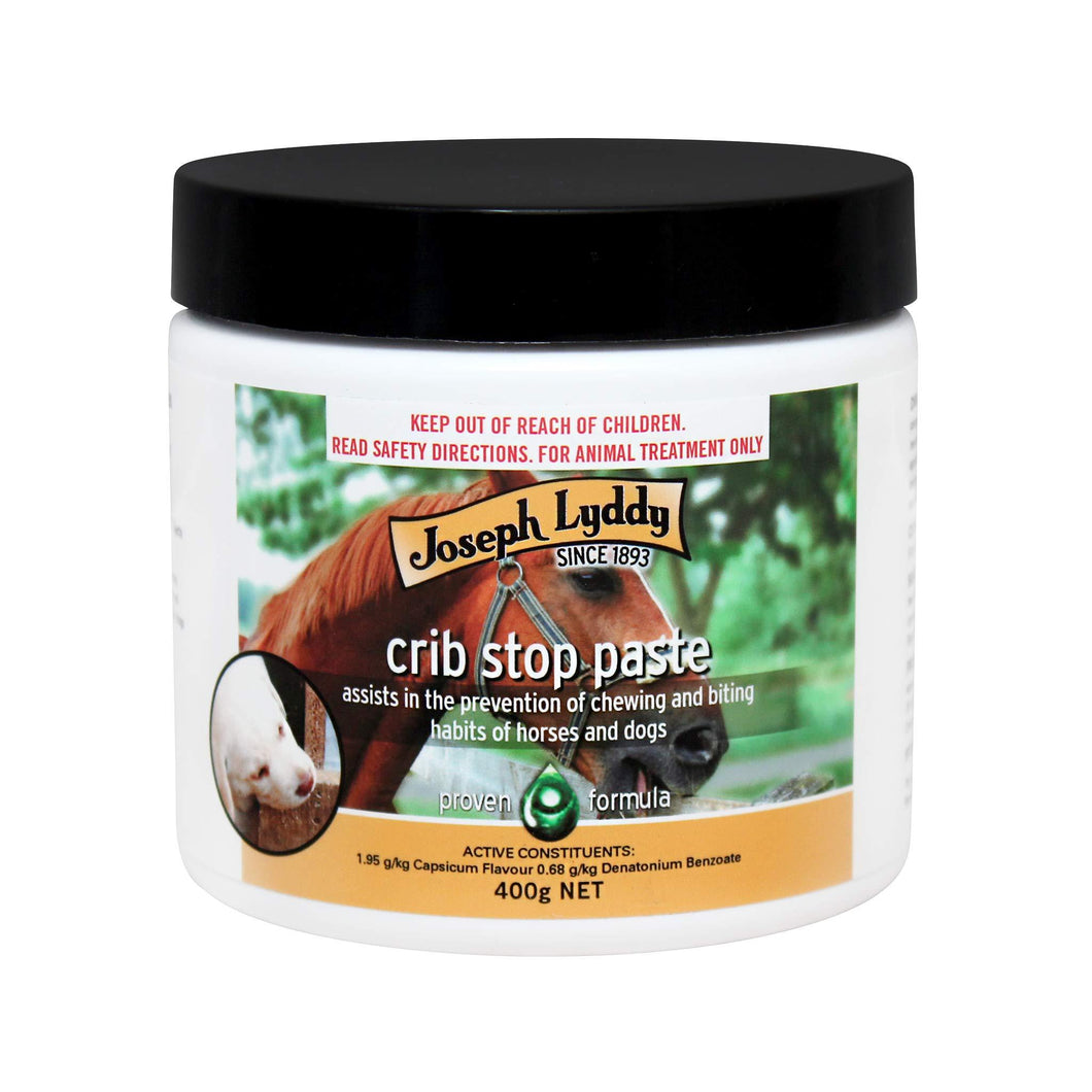 Joseph Lyddy Crib Stop Paste