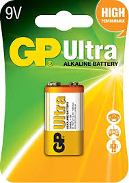 9V Ultra Alkaline Battery