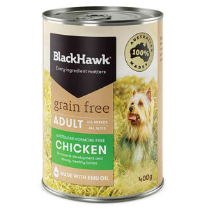 BlackHawk Dog Cans