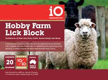 Load image into Gallery viewer, iO Hobby Farm Block 20Kg