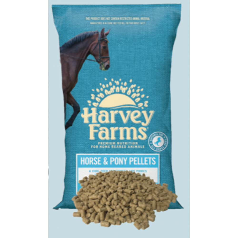 Harvey Farms Horse & Pony Pellets 20kg