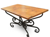 MTO - Dining copper table