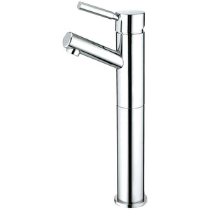 Vessel Bathroom Faucet in Polish Chrome - BFKS8411DL - www.artesanocoppersinks.com