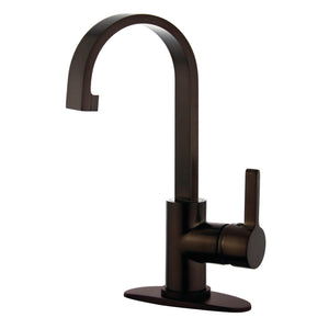 Single Hole Bathroom Faucet in Oil Rubbed Bronze - BFLS8215CTL - www.artesanocoppersinks.com