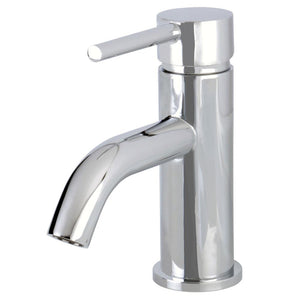 Single Hole Bathroom Faucet in Polish Chrome- BFLS8221DL - www.artesanocoppersinks.com