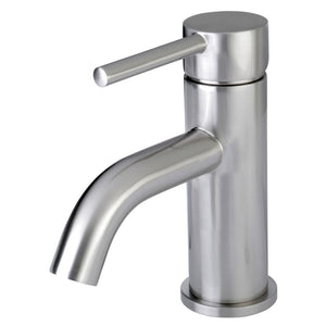 Single Hole Bathroom Faucet in Brushed Nickel - BFLS8228DL - Artesano Copper Sinks