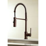 Pre- Rinse  Kitchen Faucet in Oil Rubbed Bronze - KFLS8775DL - www.artesanocoppersinks.com