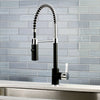 Pre- Rinse  Kitchen Faucet in Matte Black and Chrome - KFLS8777CTL