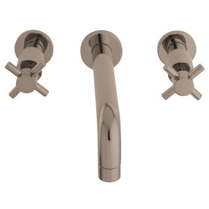 Wall Mount Bathroom Faucet in Brushed Nickel - BFKS8128DX - www.artesanocoppersinks.com