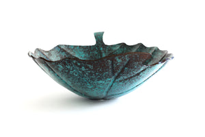 Oxidized Green Finish (OG) - www.artesanocoppersinks.com