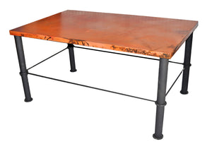 MTO - Dining copper table - www.artesanocoppersinks.com