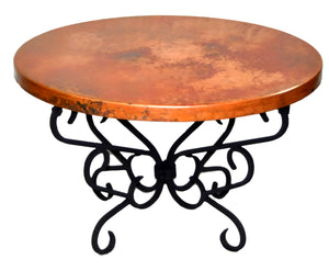 MTO - Copper table - www.artesanocoppersinks.com