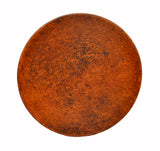 MTO - Round table top in NATURAL - www.artesanocoppersinks.com