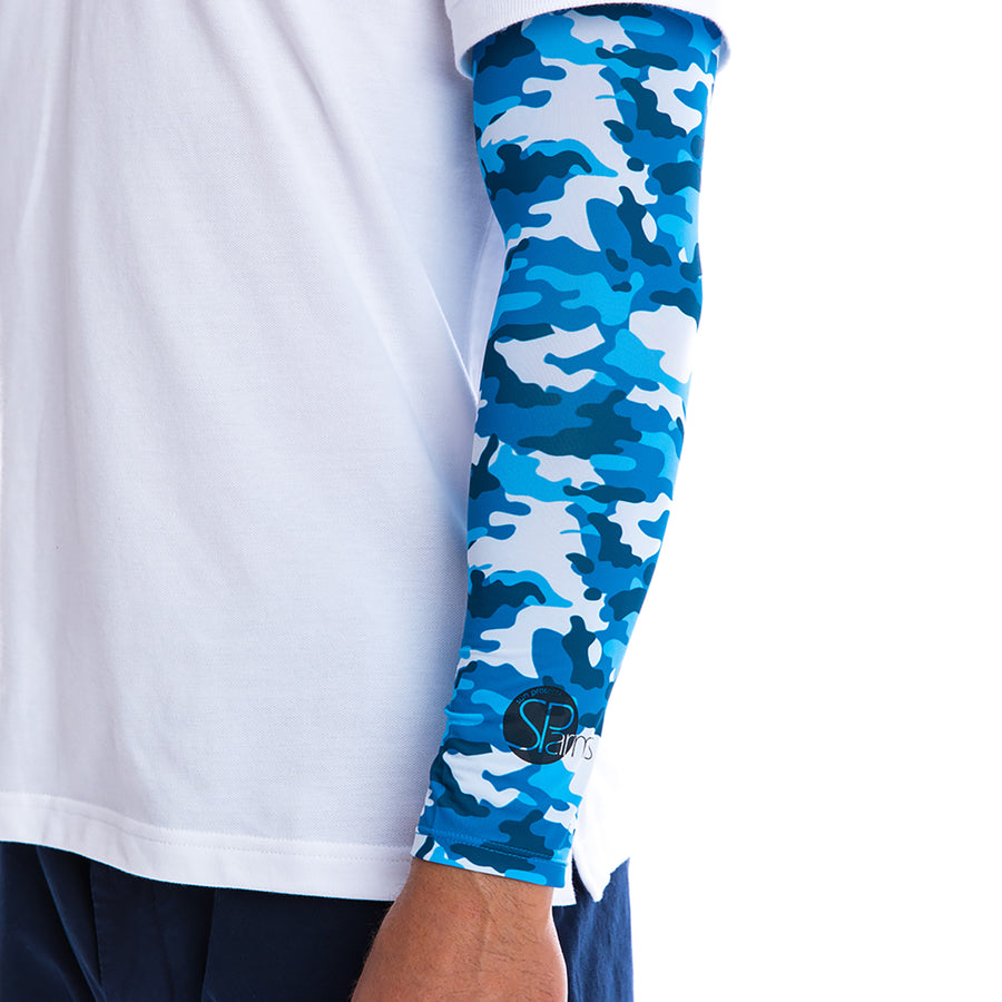 Sun Protection Shoulder Wrap (UV Sleeves) (Camo)