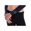 Sun Protection Shoulder Wrap (UV Sleeves) Crystal logo - SParms America