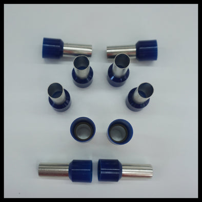 1/0g WIRE FERRULES - SOLD IN PAIRS
