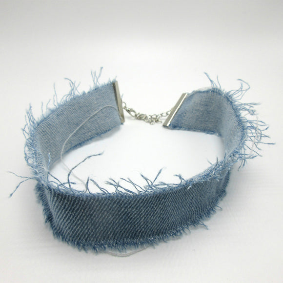 Denim Chocker
