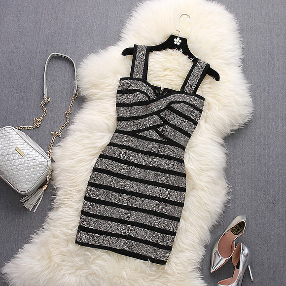 Luxury Bandage Tank Dress