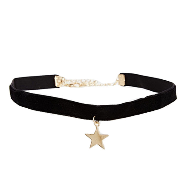 Velvet Star Chocker