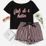 Girls Do It Better Pajama Set