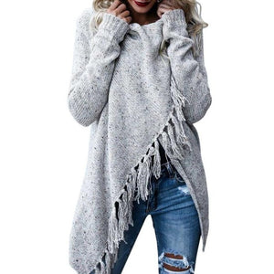 Fringed Tassel Sweater