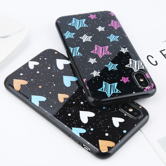 Cute Hearts & Stars Phone Cases
