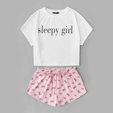 Sleepy Girl Pajama Set