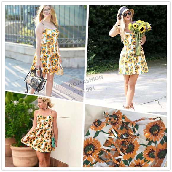 Sunflower A Line Dress