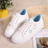Star & Heart Sneakers