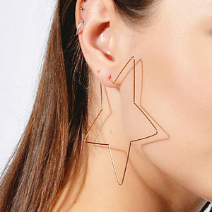 Star and Heart Earrings
